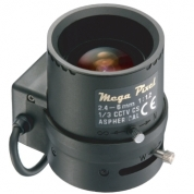 GAMP12460BS4 - Wide angle, megapixel lens (up to 2MPxl). Autoiris DC type and varifocal (2,6mm-6mm)