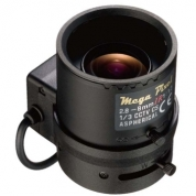 G3DN12880BS4 - Wide angle, megapixel lens (up to 3MPxl). Autoiris DC type and varifocal (2,8mm-8mm)