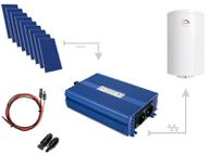 Set for heating water in ECO Solar Boost 2500W MPPT 9xPV Poli boilers