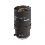 VD28120MS  2.8 - 12mm lens, varifocal, manual iris