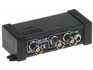 TRV-1/2P ACTIVE VIDEO SIGNAL SPLITTER AHD/HD-CVI/HD-TVI/CVBS