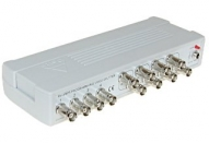 TRV-4/8PR - PROGRAMMABLE VIDEO SPLITTER