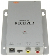 AUDIO/VIDEO RECEIVER TWR-24 2.4GHz 4-CHANNELS