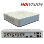 DS-7116HQHI-K1 - 16CH -TVI/HDCVI/AHD/CVBS +8 IP ch, real-time 1080p