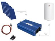 Set for heating water in ECO Solar Boost 1650W MPPT 6xPV Poli boilers