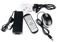 Комплект-VOBNVR5108 + 4x IP VOBIP246MZ - 4Mpix + VONT-SP1004 Switch PoE+VOBA101B