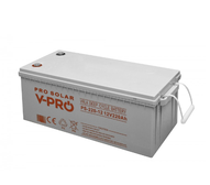 BATTERY DEEP CYCLE VPRO SOLAR 220Ah 12V