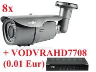 VOHDA 185x8+VODVRAHD7708