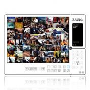 F1100 - Economic megapixel (1Mpix/720p), 1/4'' CMOS, 0.8Lux, 3.7mm / F2.4.