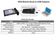 Hdd to usb adapter