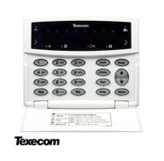 RKP 8 PLUS - LED Keypad, 8 zones, compatible with PREMIER 412/816/832
