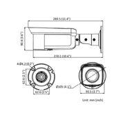 DS-2CD2T46G2-4I - 4MP, 2.8/4/6 mm, IR 80m, DarkFighter, AcuSense, MicroSD
