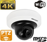 DS-2CD2F42FWD-IWS - 4MP WDR Mini PT Network Camera