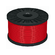 2*1.0 ROSSO - Unshielded cable (non-flammable)