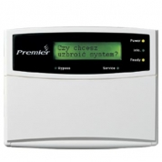 Premier LCD. LCD remote keypad, compatible with PREMIER 412/816/832 and PREMIER 48/88/168/640