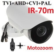 VOHDX170w-z - Multi-HD, PAL, HD-TVI, HD-CVI, A-HD. 1080p, 2,7-13.5mm, IR-70m