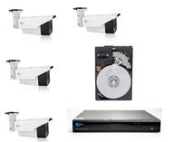 Комплект 2104+4 - 4 камеры 2Mpix IR 30m+регистратор 4CH+диск 1TB