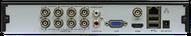 VODVRHDX7108 - 8-AHD/CVI/TVI/Analog+2IP, 8-ch video&1-ch audio