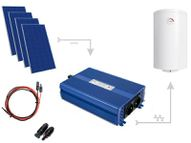 Set for heating water in ECO Solar Boost 1200W MPPT 4xPV Mono boilers