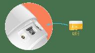 CS-CV310 - 2Mp, 2.88mm, Wi-Fi, IR 30m, microSD, 110° Viewing Angle, Mic