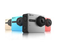 Ezviz S5 - Спорт камера, 12 MP, 4К, Waterproof, 158° Ultra wide angle, MicroSD, WI-FI, BlueTooth