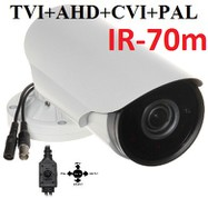 VOHDX170w - Multi-HD, PAL, HD-TVI, HD-CVI, A-HD. 1080p, 2,8-12mm, IR-70m