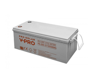 BATTERY DEEP CYCLE VPRO SOLAR 260Ah 12V