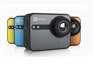 Ezviz S1C - Sport camera, 8MP, FullHD, Waterproof, 140° Ultra Wide Lens, MicroSD