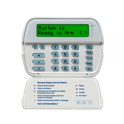 RFK5500 - 64-Zone LCD Full-Message Keypad with Built-In Wireless Receiver